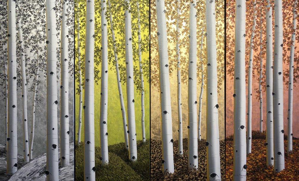 Seasons of Creede 4 40x16 Panels