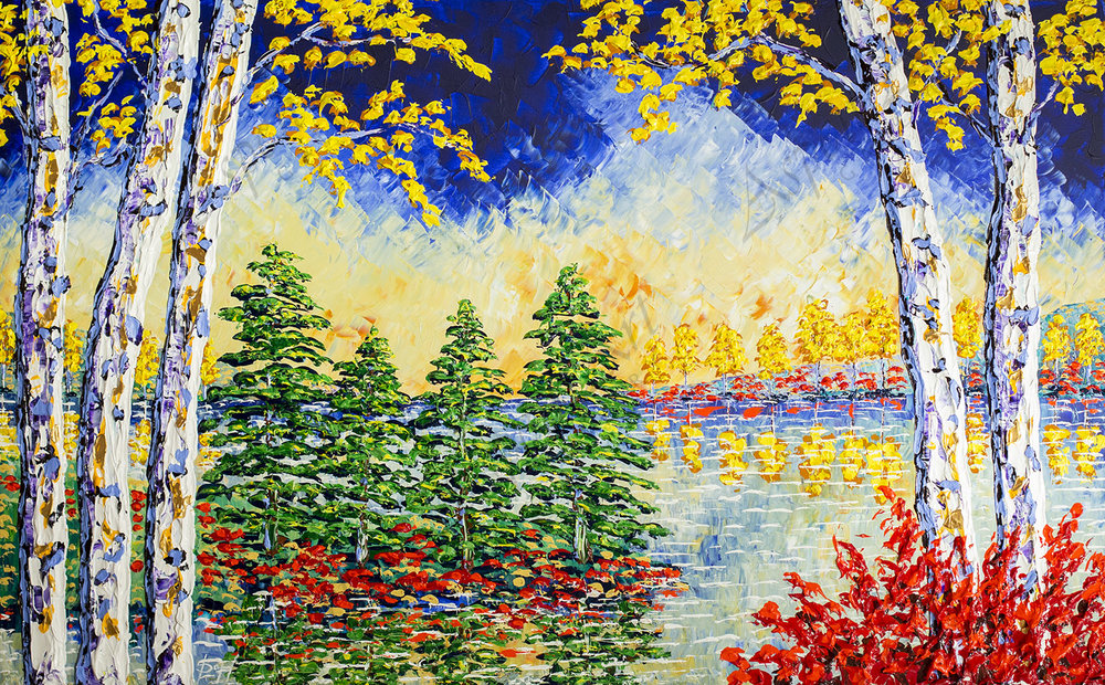 Forest of Mighty Colors 36x60.jpg