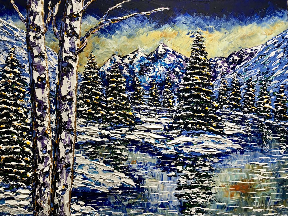 Delightful Winter of Beauty 30x40