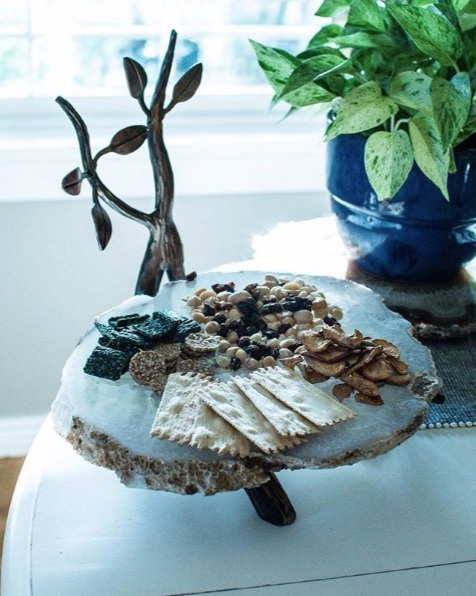 Agate Display Tray