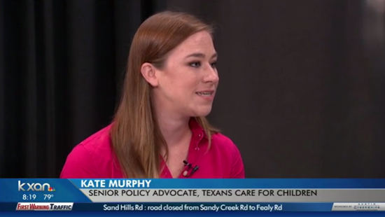 Our work on Child Protection is led by: Kate Murphy Senior Child Welfare Policy Associate kmurphy@txchildren.org @K8MurphysLaw