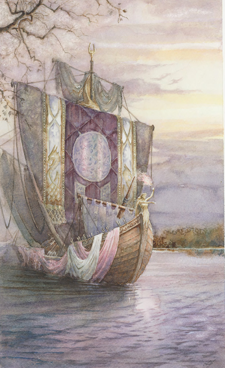 Morgan's Ship of Twelve Maidens (C)