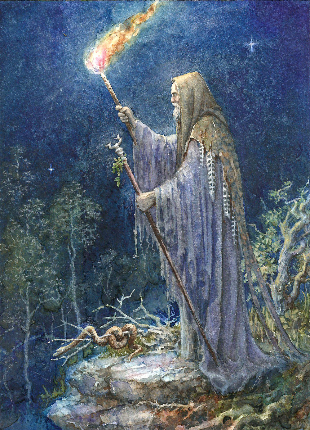 Myrddin - The Hermit (B)