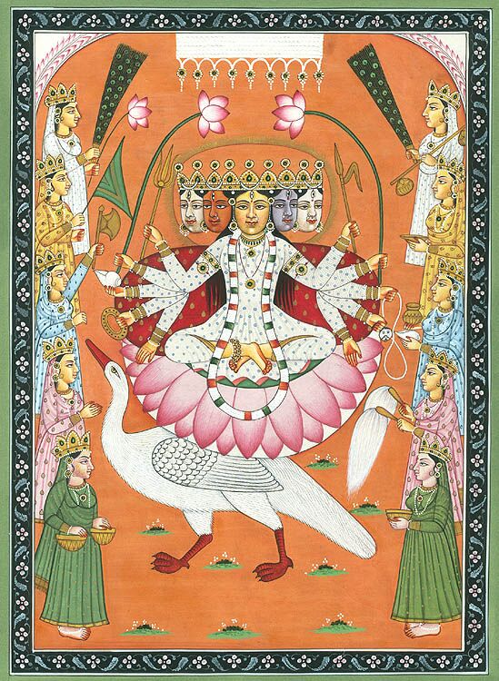 OṂ & the Mystical Symbolism of the Gāyatrī Mantra:Part II - In Part II, we will learn how the feminine term Gāyatrī, or 'Song,' came to mean the liberating energy latent within the unbroken utterance (ucchāra) of the primal syllable AUM, when engaged correctly; we will dive into the earliest passages which reveal how this practice produces the impelling light (Sāvitri) of the metaphorical Sun, which removes all darkness within our awareness. Click here to learn more.