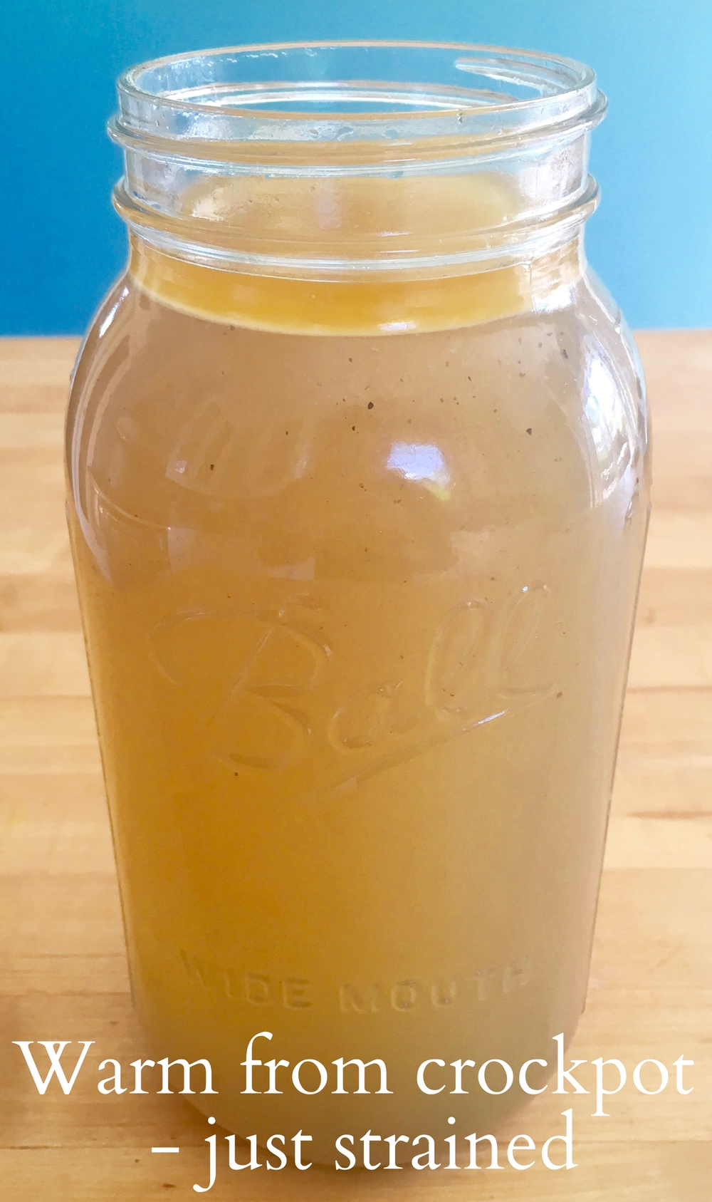 3 stages of bone broth