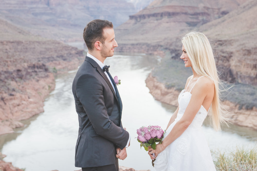 Wedding Vows on the River