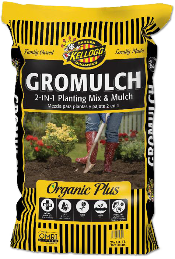 Don't forget  - to plant with a great ammendment like Kellogg's Gromulch. Not only will it add all the nurtrients you need for a healthy soil, but it you can use a little for a top dressing too!