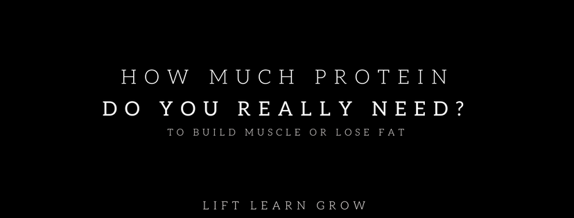 How much protein do you really need blog post