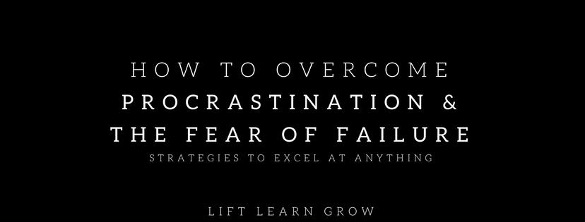 How to overcome procrastination blog post