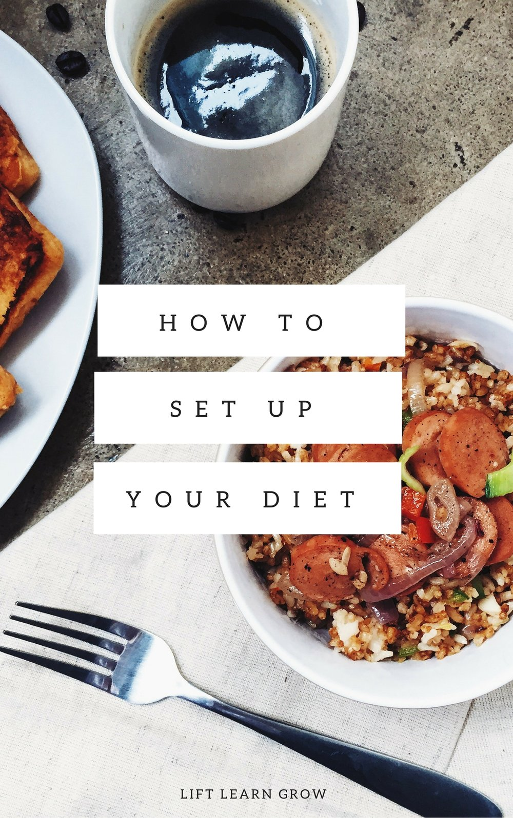 How To Set up Your Diet E-book