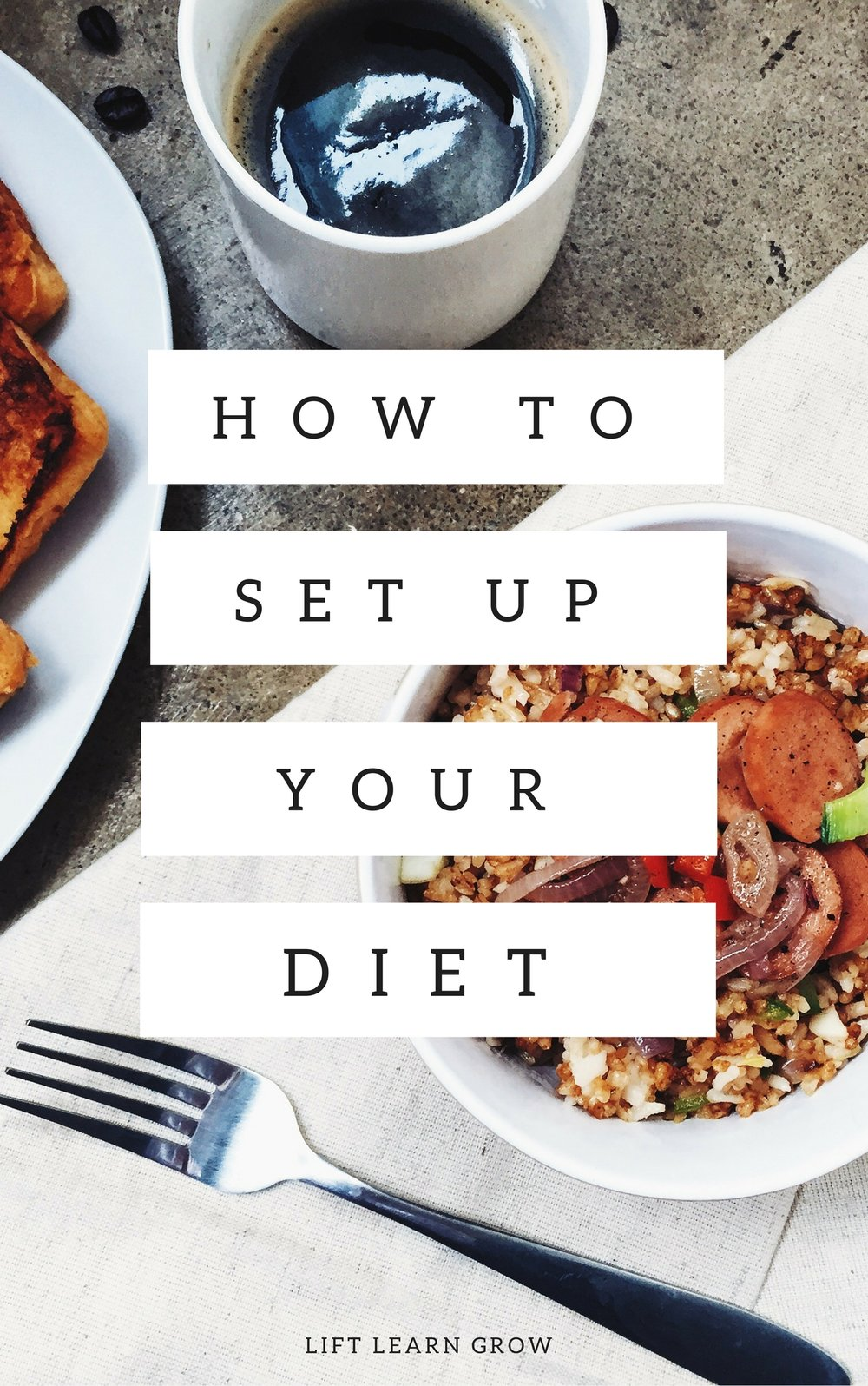 How To Set Up Your Diet