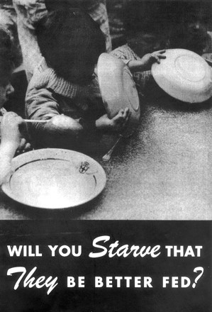 A copy of the poster the men responded to.