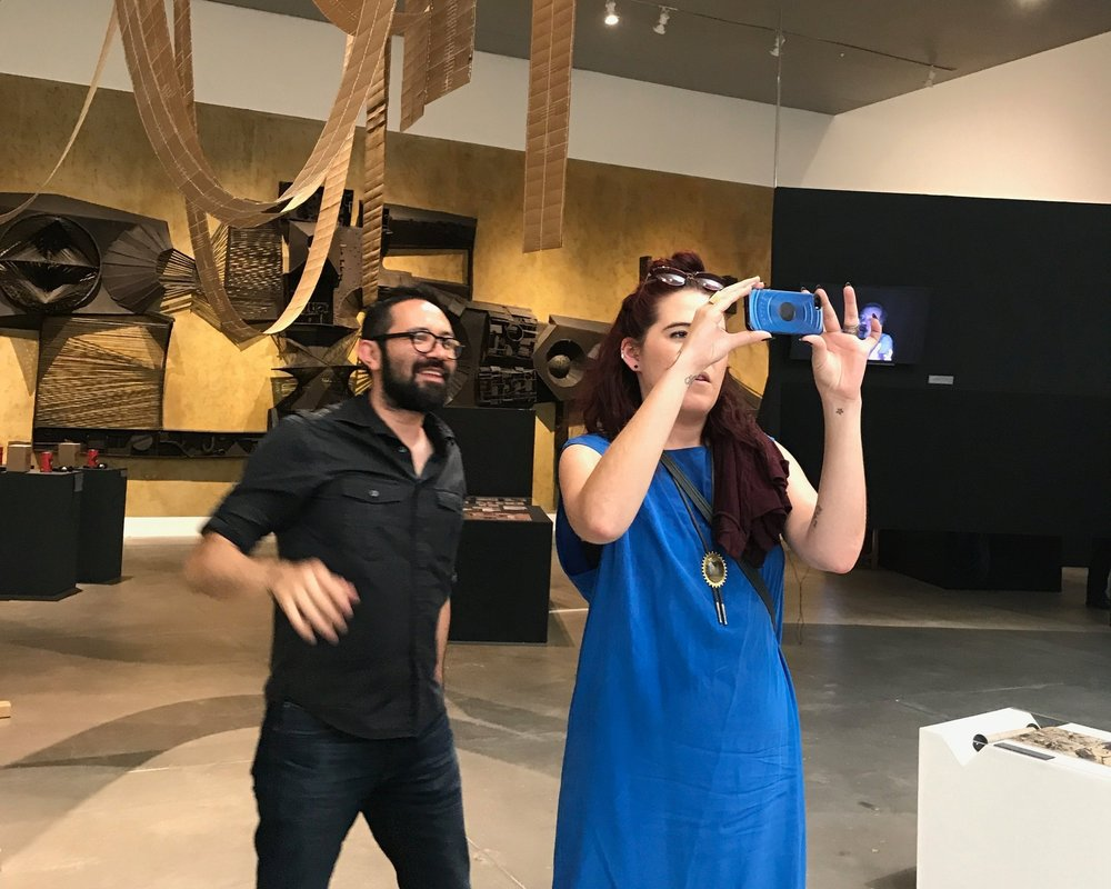 Contemporary art comes to life with behind the scenes visits - Luis vargas santiago, former curator of Museo Universitario arte contemperanio
