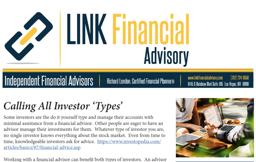 Finance Newsletter Example