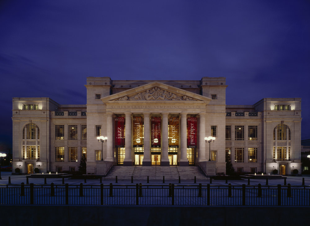 Schermerhorn Symphony Center:  photo by Steve Hall of Hedrich Blessing