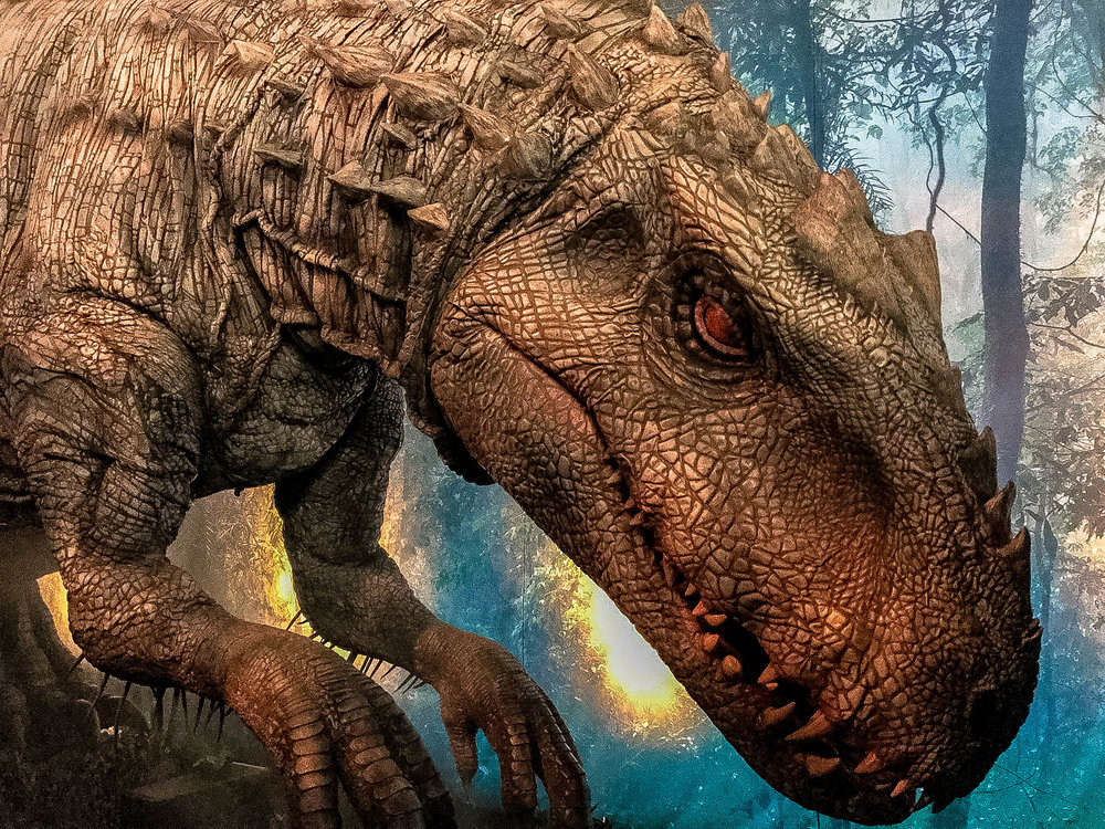 The Incredible Indominus Rex Animatronic