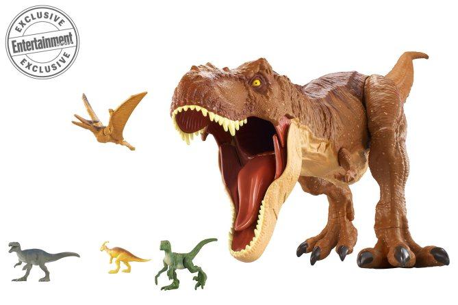 3de5dda1a EW's First Look: Mattel's Jurassic World: Fallen Kingdom Toys & More! — The Jurassic  Park Podcast