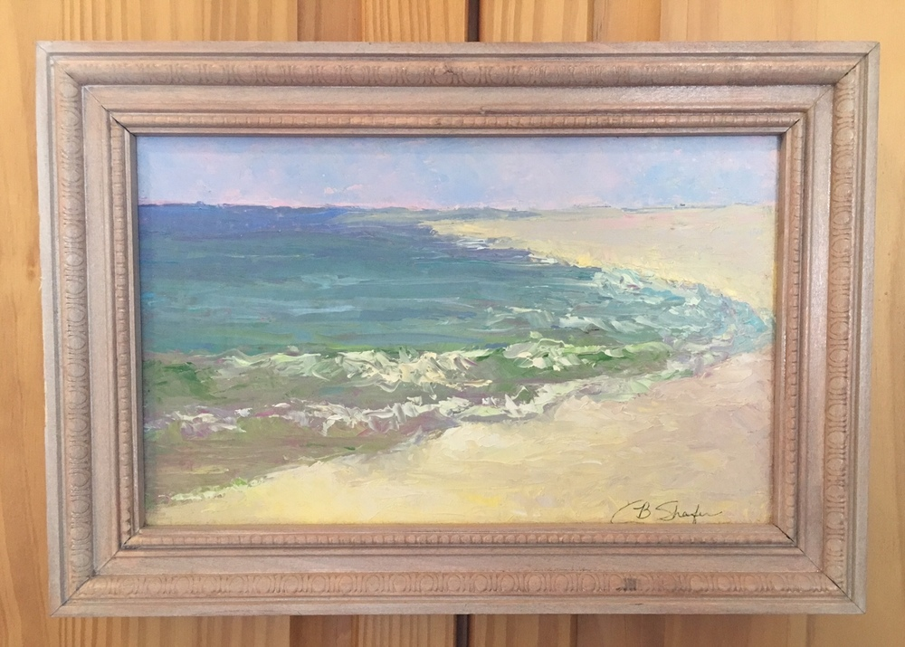 Early Light, This was painted in Gulf shores, AL. Plein Air, right next to the Pink Pony Pub.