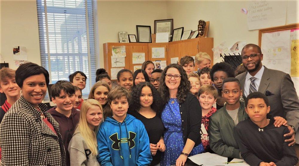 JAN SCHUETTPELZ 7th Grade Science Teacher, Deal Middle School Teacher of the Year
