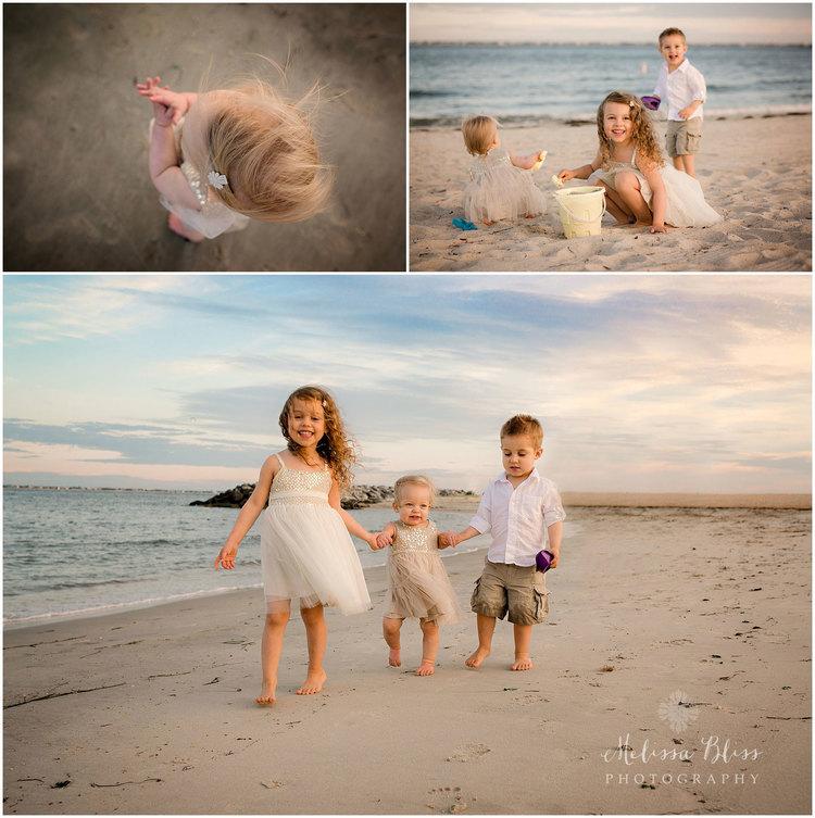 Family beach sessions portrait ideas