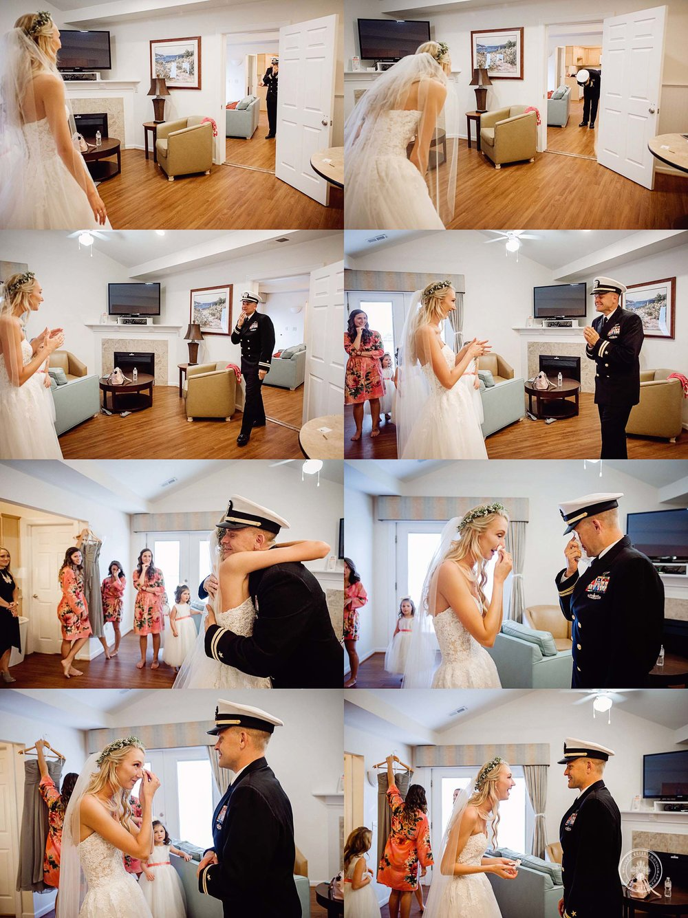 father-daugther-bride-emotional-first-look-va-beach-documentary-wedding-photographer