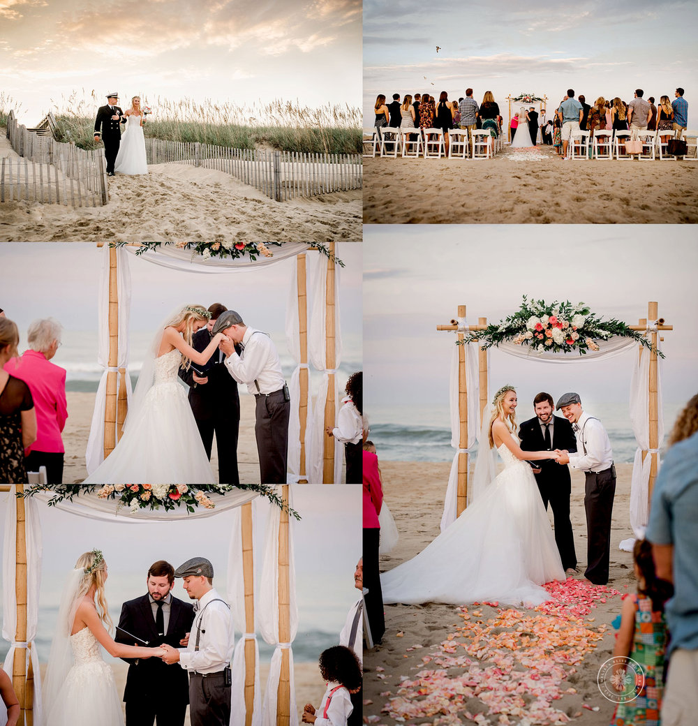 Virginia Beach Wedding Venues: Virginia Beach Wedding Photographer- Shifting Sands Beach