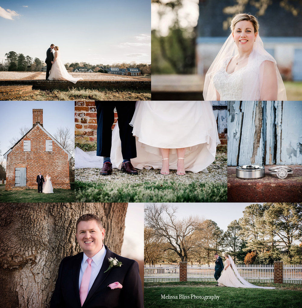 Williamsburg Wedding Photographer Melissa Bliss Photography Bride And