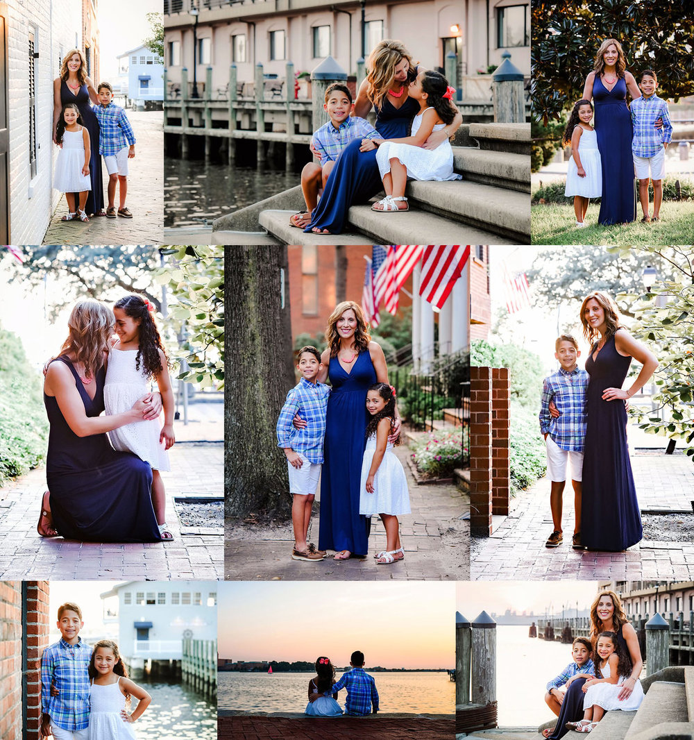 Freemason District, Norfolk Waterfront Family Mini Session