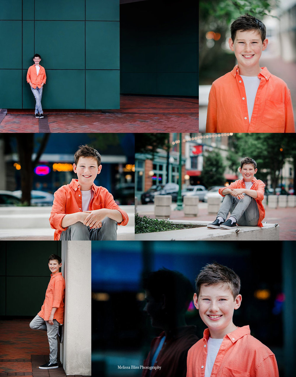 Downtown Norfolk Child Portrait Session