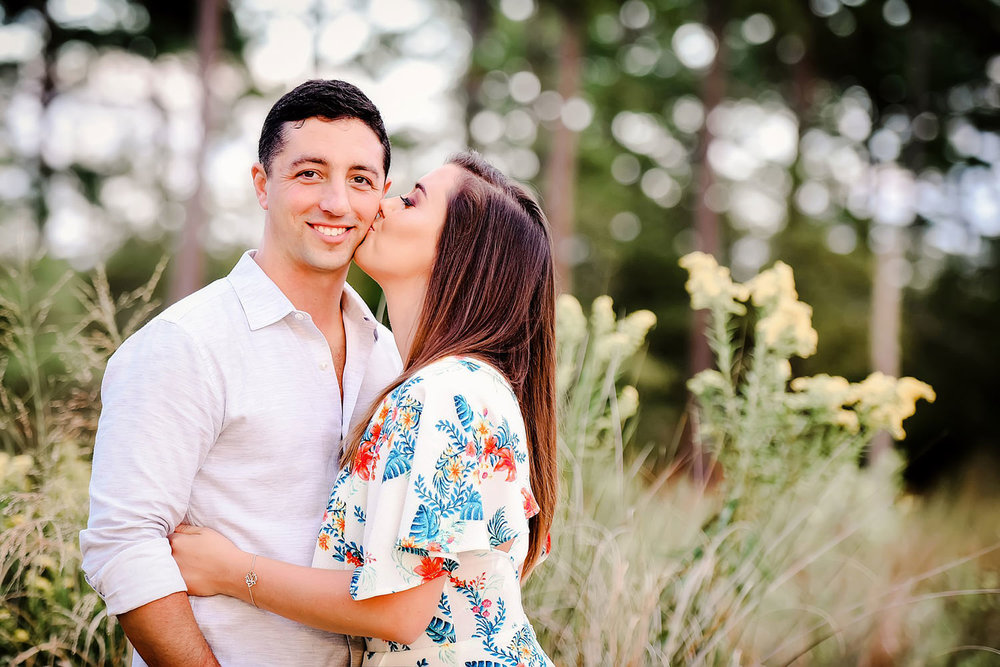 First Landing State Park Engagement Session Portraits