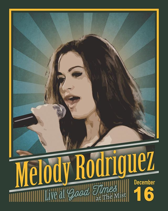 Get excited for our Winter Wonderland party! Featuring Melody Rodriguez @mellowmystic  #GoodTimes #GoodTimesAtTheMist  Link in bio for last minute sign ups.