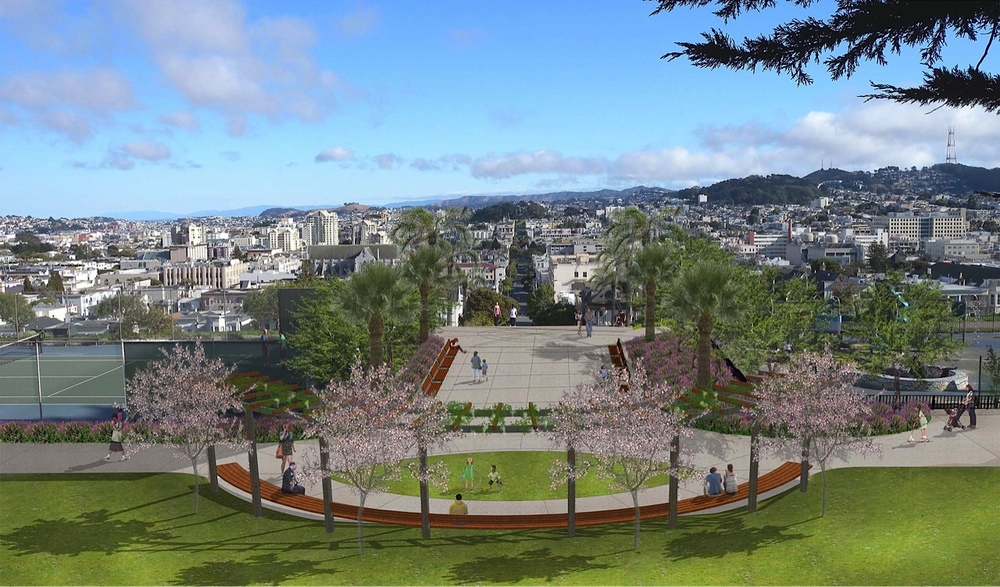 Alta Plaza Park (in progress)