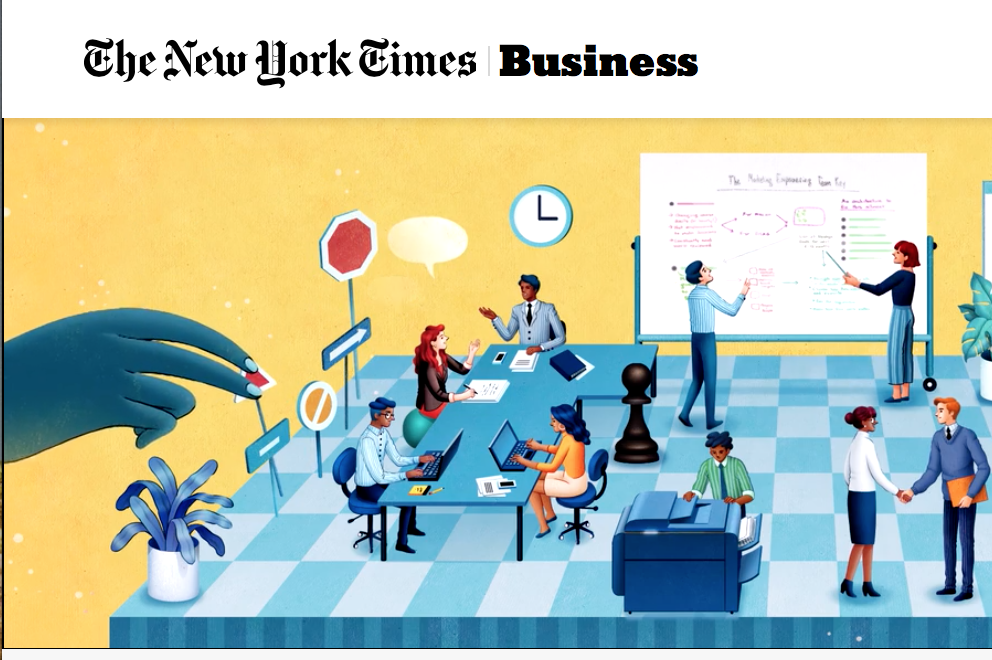Utklipp fra New York Times Business