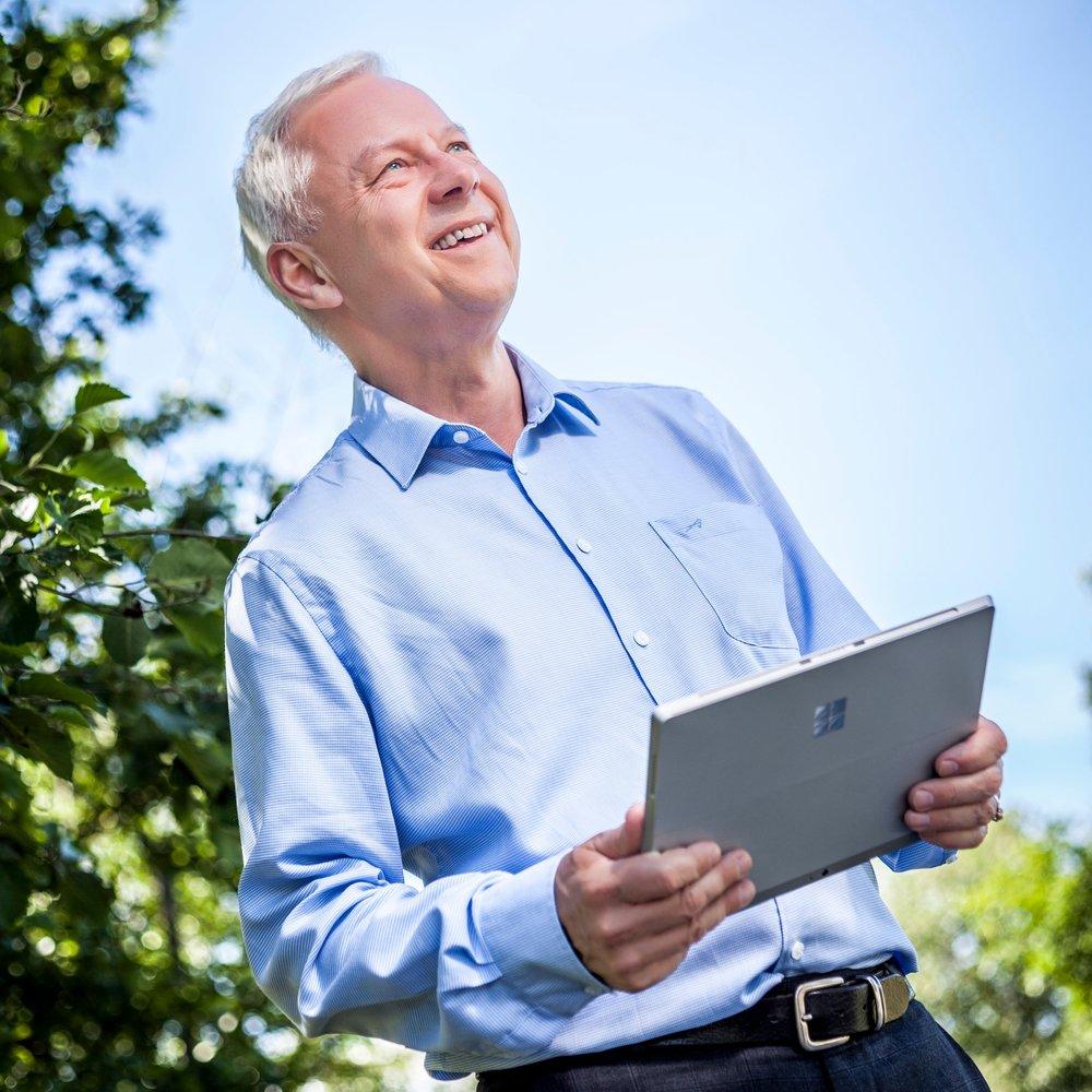 Bildet viser Bjørn O. Hopland i Smart endring AS