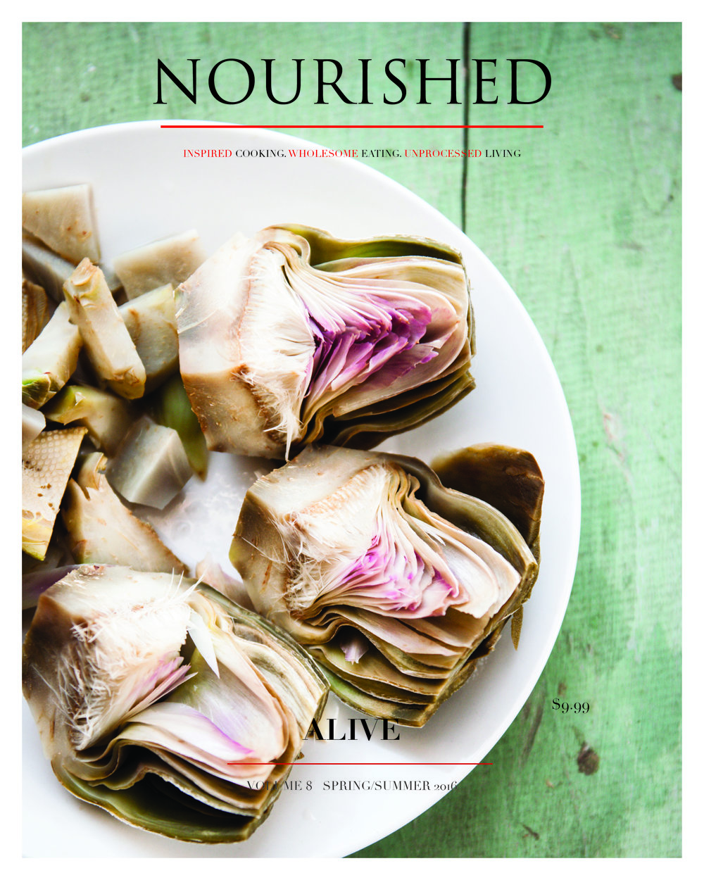 ALIVE- NOURISHED ISSUE 8