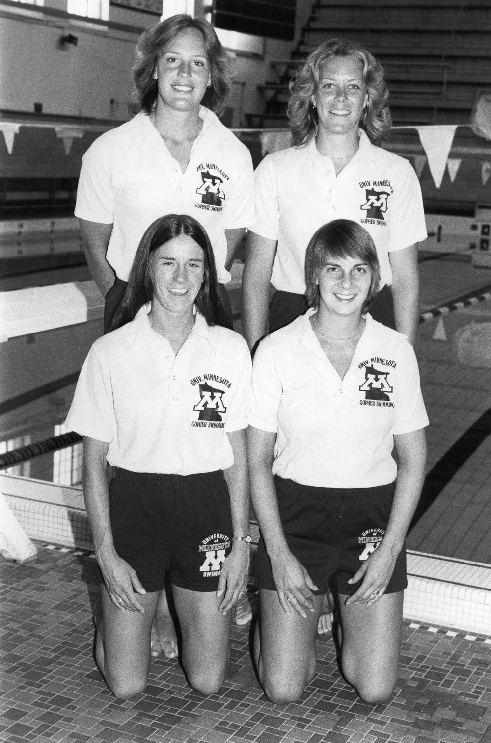 The final of Ganley's four All-America honors came on the 200 freestyle relay in 1976, teaming with Cindy Anderson, Cheryl Swanum and Joni Ellis