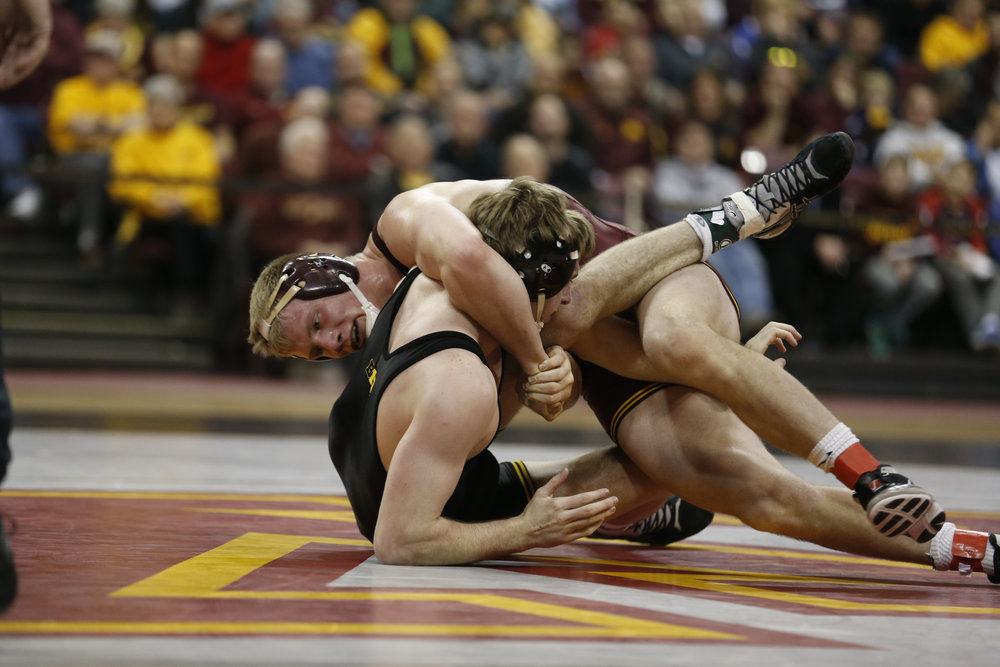 Brett finished his Gopher career as a two-time All-American, placing second in 2017 and third in 2016 at 197 pounds. Over those two years, he went 71-7 and was unbeaten in dual meets (30-0).