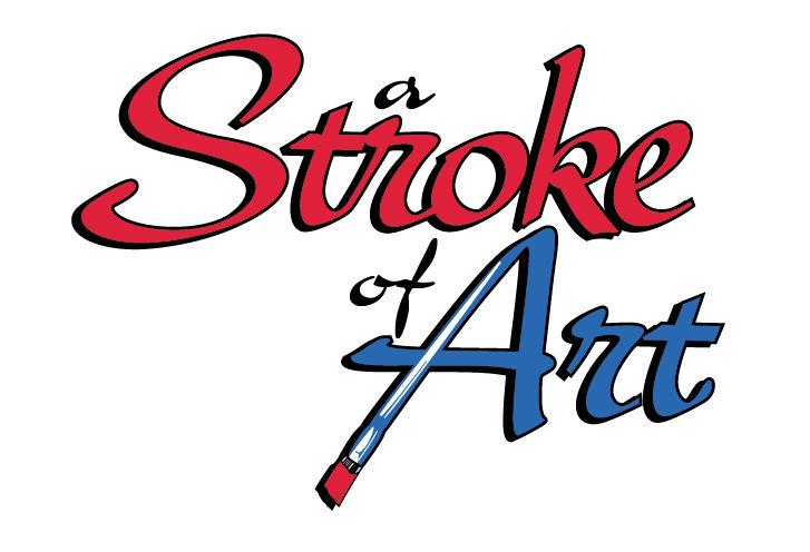 a stroke of art