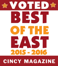 VOTED BEST GIRLS NIGHT OUT!        By Cincy Magazine 2015 - 2016