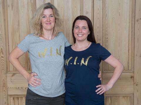 Georgie & Christina founders of W.I.N (Women In Need London)
