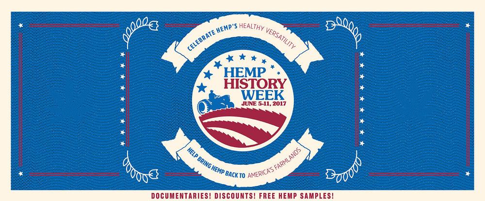 Hemp History Week 2017