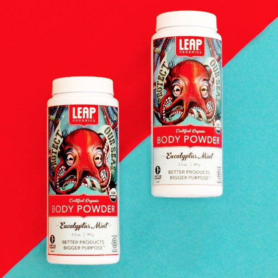 Leap Body Powder