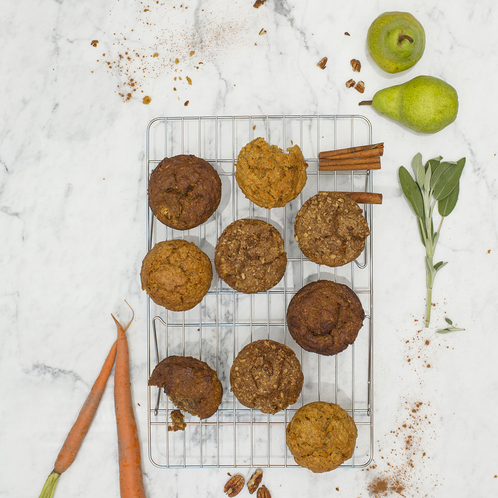Assortment of Wheat Free Muffins