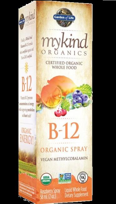 Mykind Organics B-12 Organic Spray