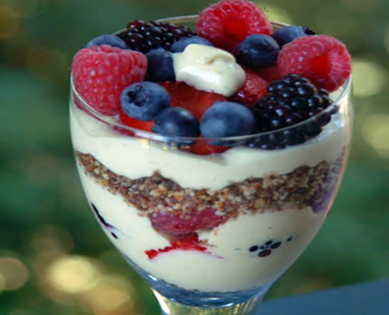 Berry Cream Parfait
