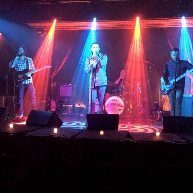We were feeling the love last night at @cuttingroomnyc with our awesome friends @cosmiccoronas who know how to throw a party. Thanks to all who came out and contributed to the relief effort for Puerto Rico. Our next show is Saturday November 11th at Pianos in NYC @pianosnyc @cuttingroomnyc @noahnielsen @thebradcorona @cflare88 Thanks for the pic @allicathom