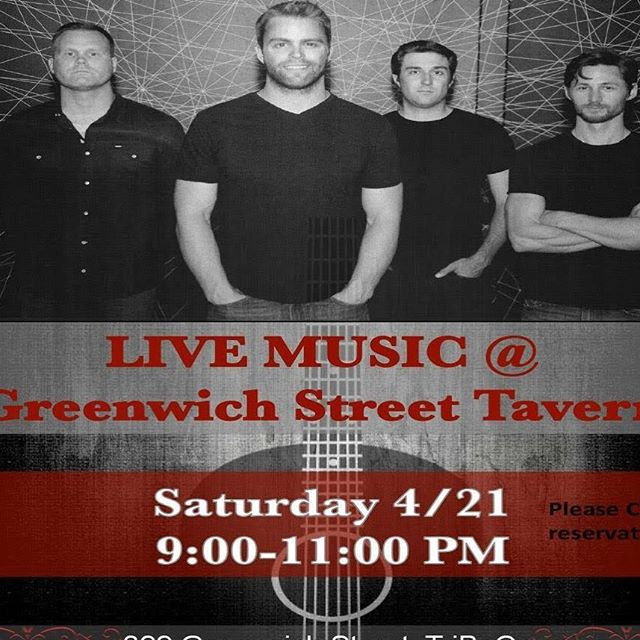 See y'all this Saturday night April 21 @gsttribeca for a free acoustic show from 9-11pm! Come rock out...acoustic style... and bring your friends to hear AR classics and covers. #nyc #bandsintown #greenwichstreettavern #songwriter #newmusic #band