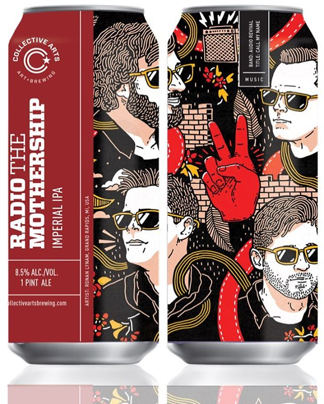 Big thank you to Collective Arts Brewing in Canada 🇨🇦 for printing Audio Revival on their next Imperial IPA beer cans! 🍺🕺30,000 beer cans featuring AR will be printed and distributed in various countries including US and Canada in the next coming months📆. Make sure to use your smart phone to follow the link on the can to our music 🎶🎶 Release date coming soon! Please follow @collectivebrew #collectiveartsbrewing #newmusic #beer #music #newyork #canada #usa #songwriter #party #songs #craftbeer
