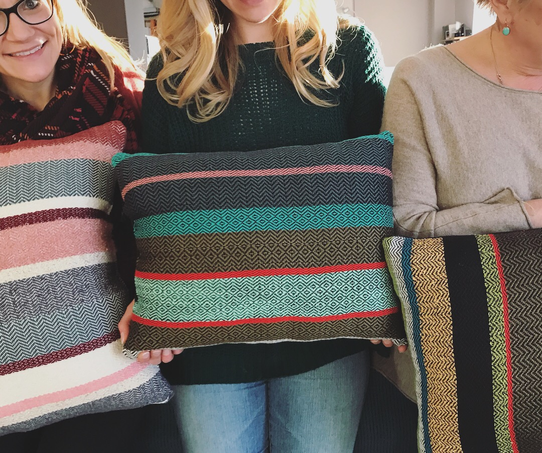 5a5d9c16ac Beginner Weaving - Weave a Cushion (Full class with theory and set up demos)