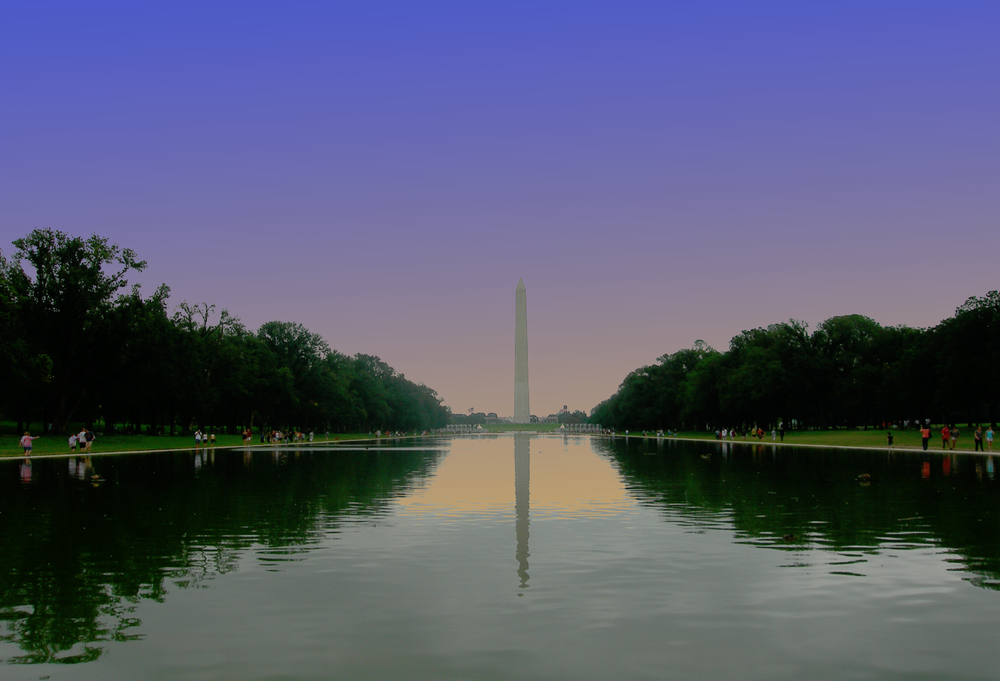 WASHINGTON MONUMENT DAWN